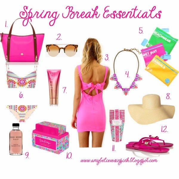 Spring Break Essentials