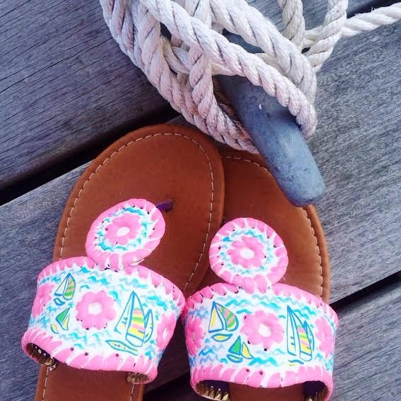 Life Love Lilly Custom Sandals