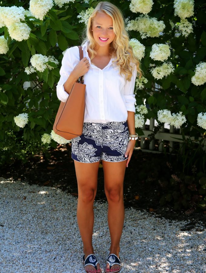 Back to School Button-down with It's Madison Lane