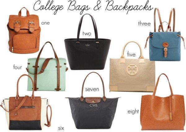 College Bags & Backpacks
