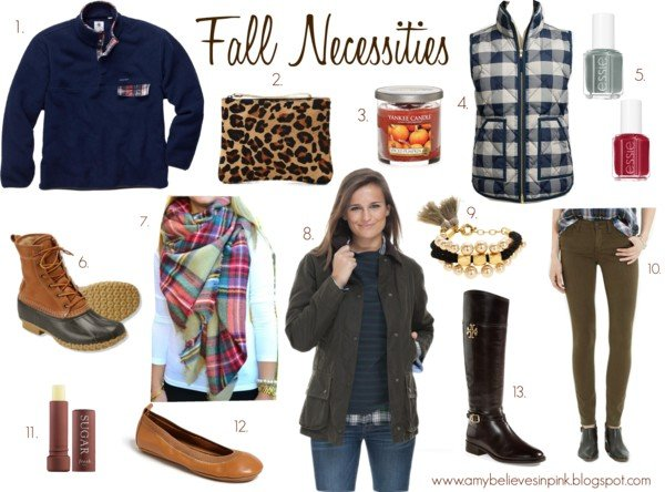 Fall Necessities