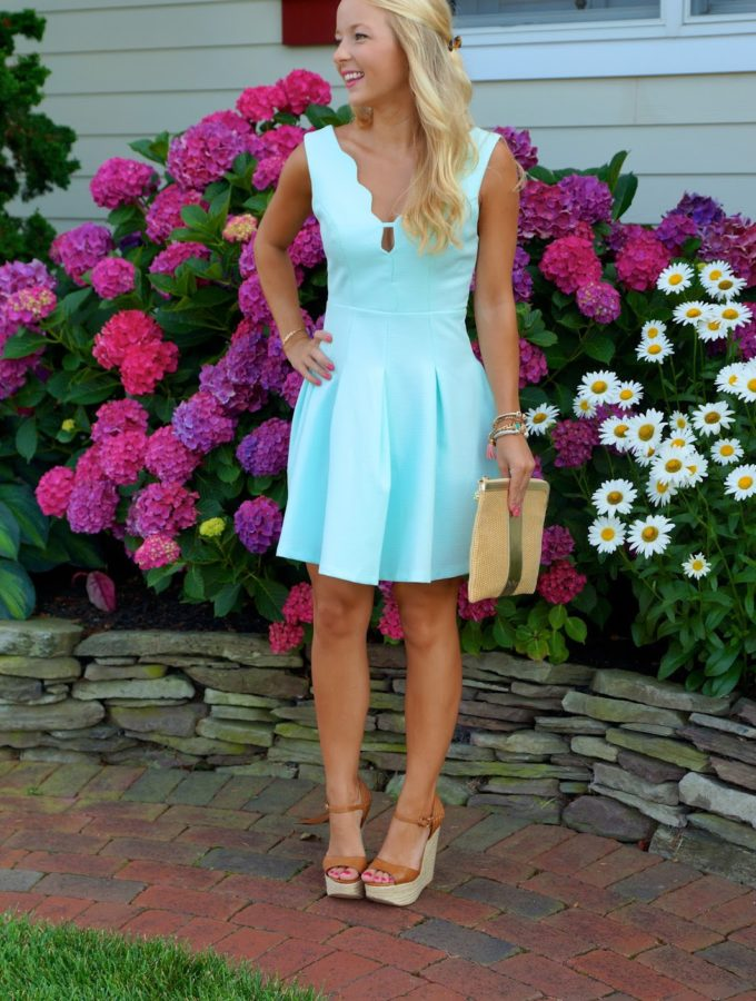 Little Scalloped Dress