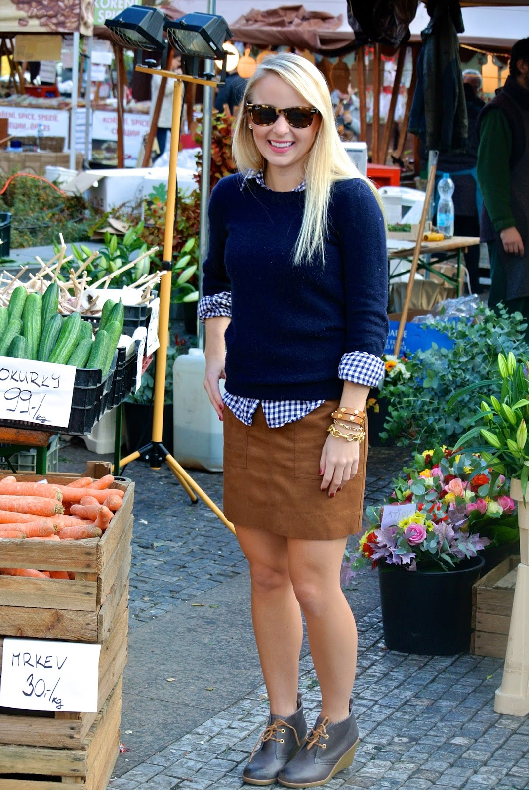 Autumn Markets in Prague