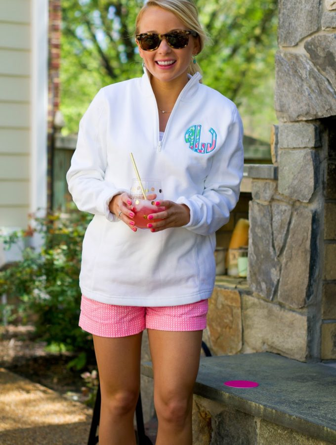 Patio Cocktail Party Pullover