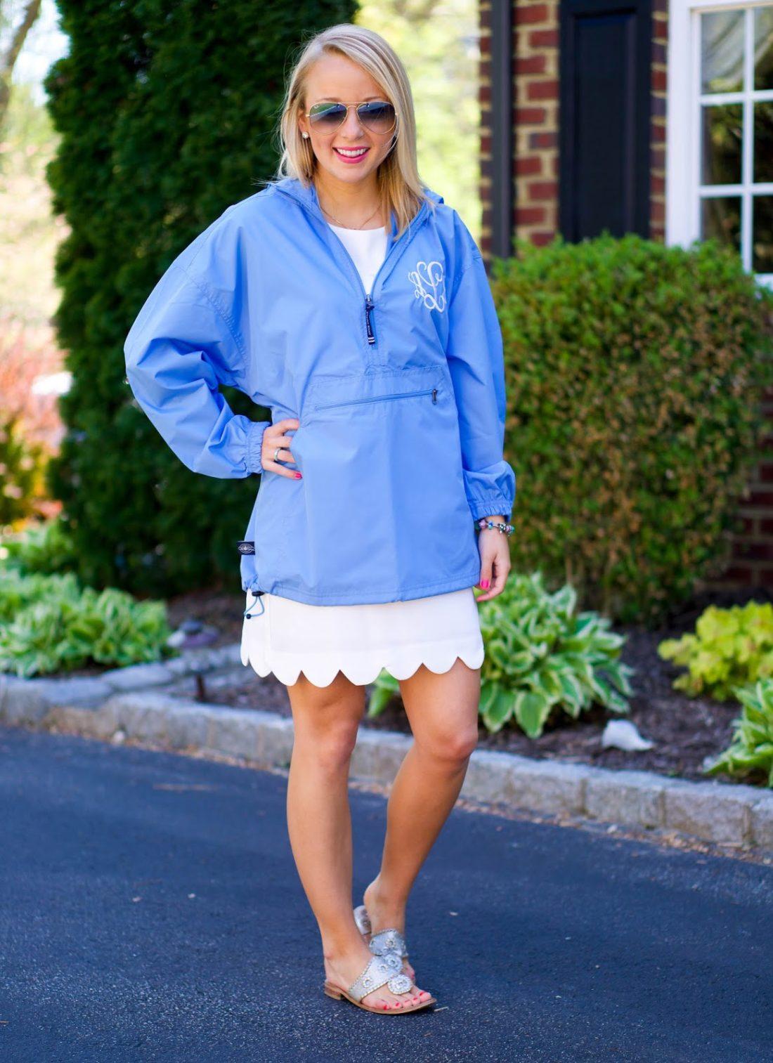 monogram pack-n-go pullover