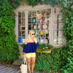 Coffee in Nantucket Off the Shoulder Top and Lilly Pulitzer Shorts-2