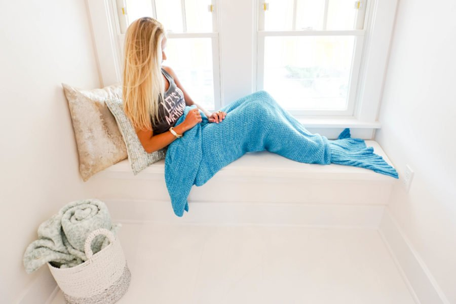 Mermaid Loft Coastal Beach House Decor-27