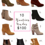 Inexpensive booties for fall