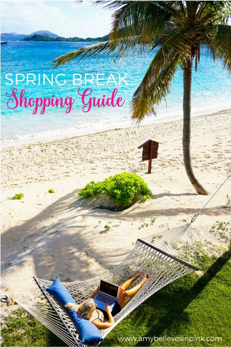 Spring Break Shopping Guide