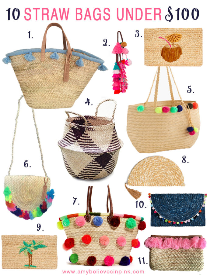 10 Straw Bags Under $100