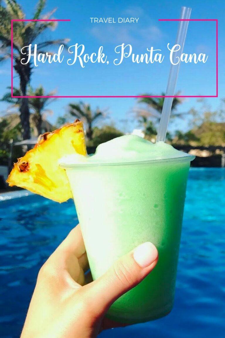 I Believe in Pink travel diary Hard Rock Resort, Punta Cana spring break trip