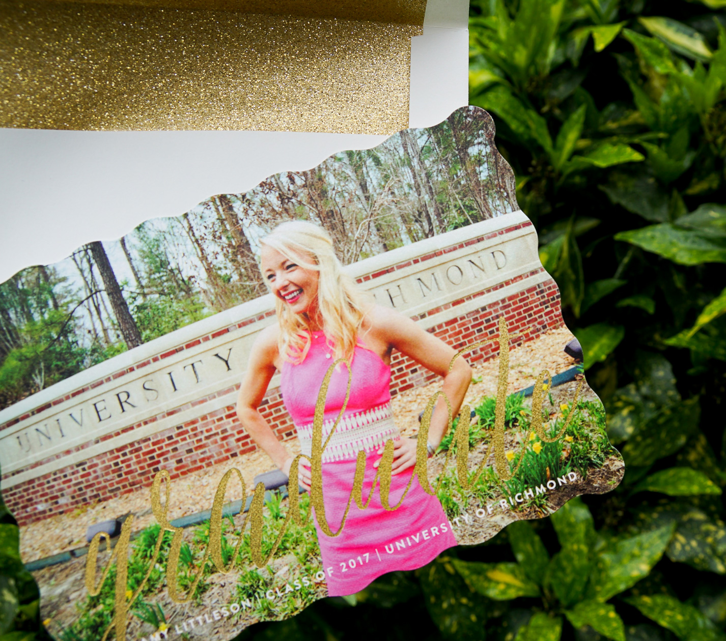 Graduation Announcements with Minted_