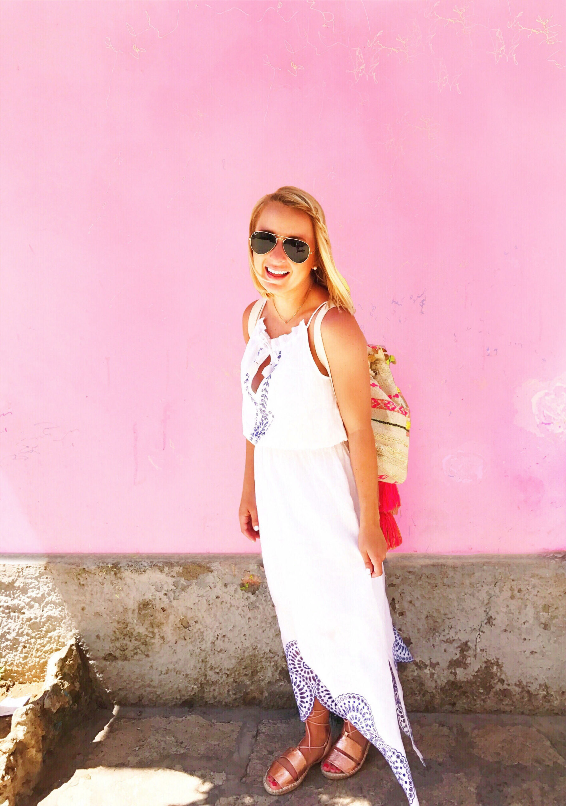Outfit in Capri Italy
