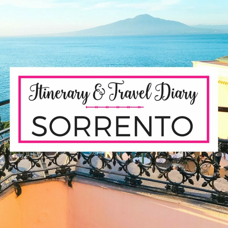 Rome and Amalfi Coast in May 10 day travel guide and itinerary