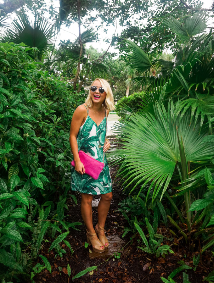 Banana Leaf Dress in Vero Beach