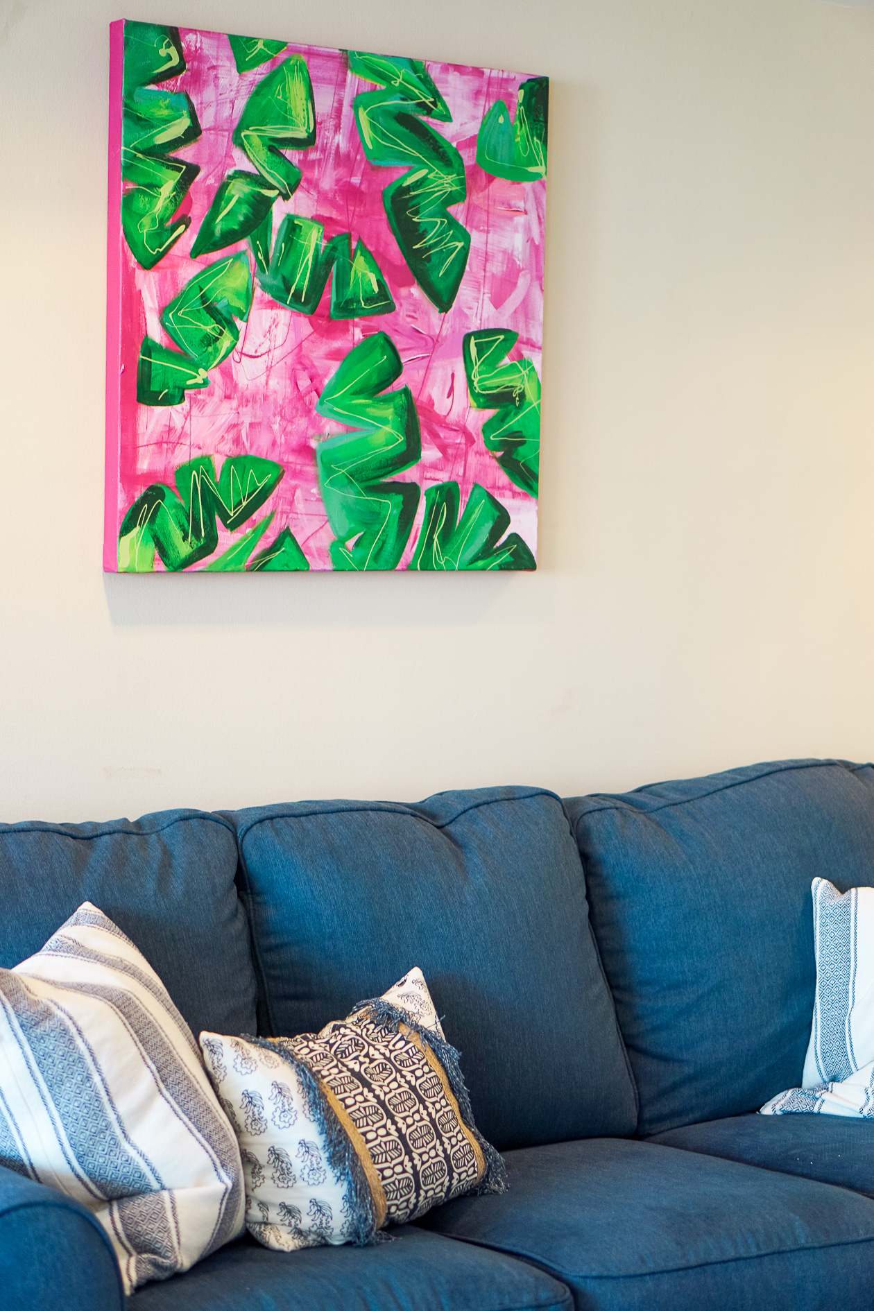 Colorful artwork for your apartment or home