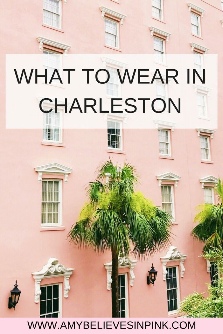 What to wear in Charleston in April
