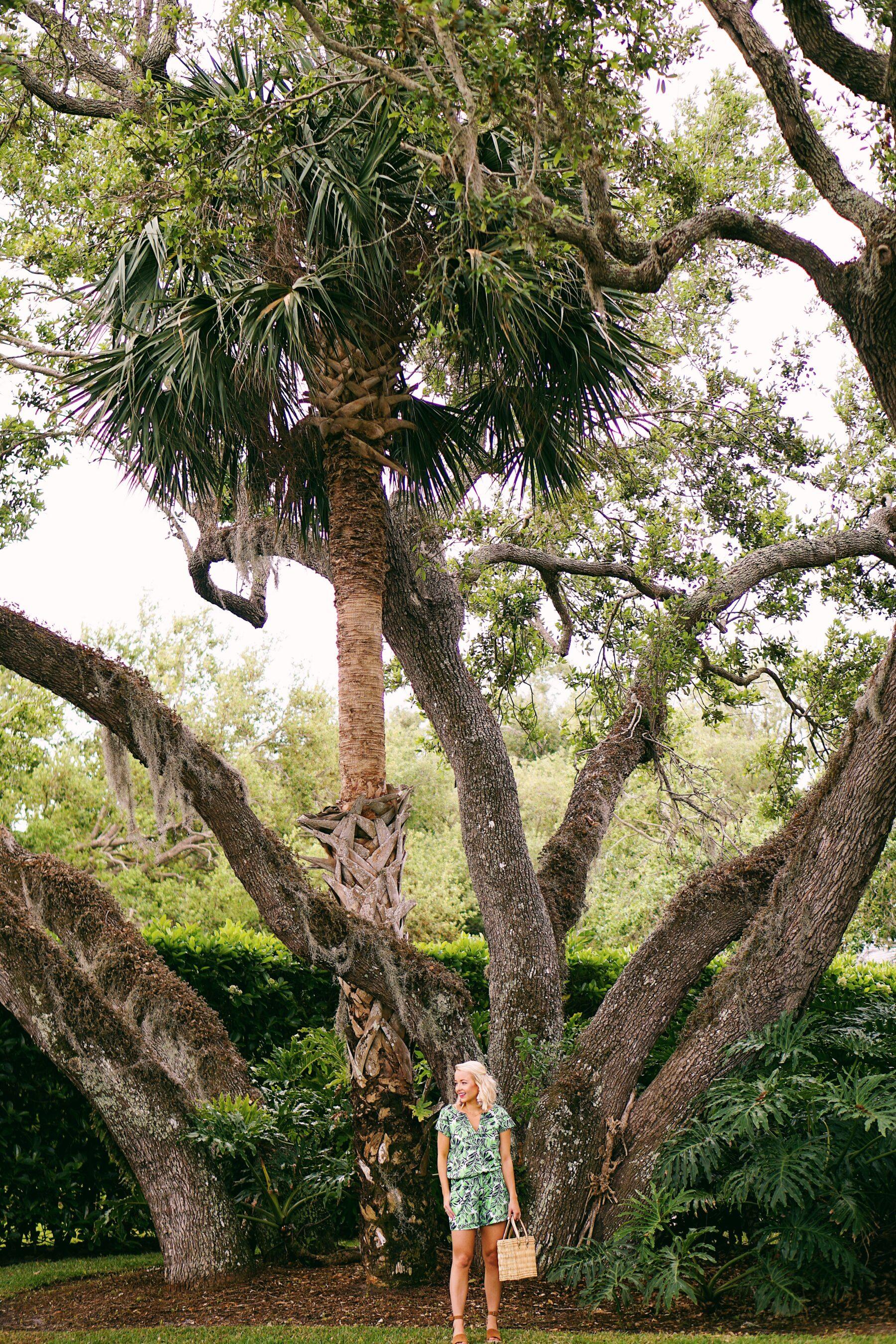 HIHO palm leaf romper