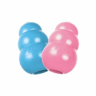 KONG Puppy Durable Rubber Chew and Treat Toy holiday gift guide