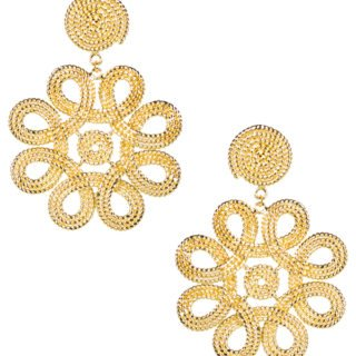 Lisi Lerch gold earrings holiday gift guide