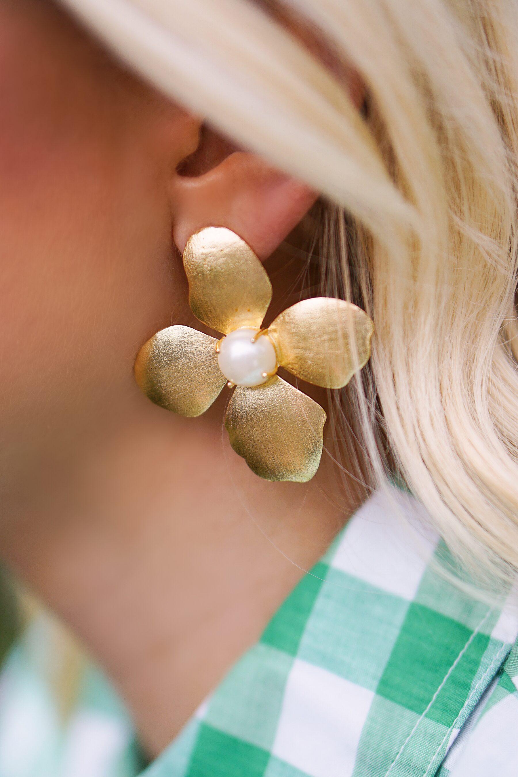 Lisi Lerch floral earrings