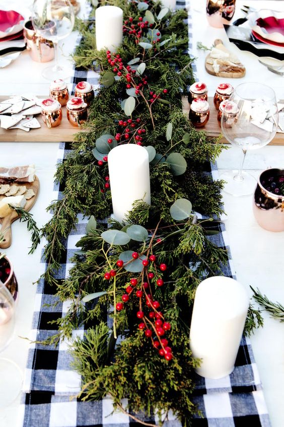 Holiday party outfit and décor inspiration