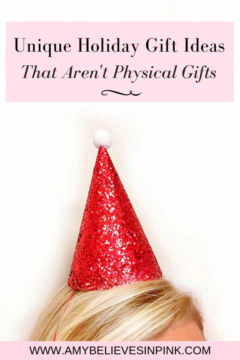 Unique Holiday Gift Ideas That Aren't Physical Gifts