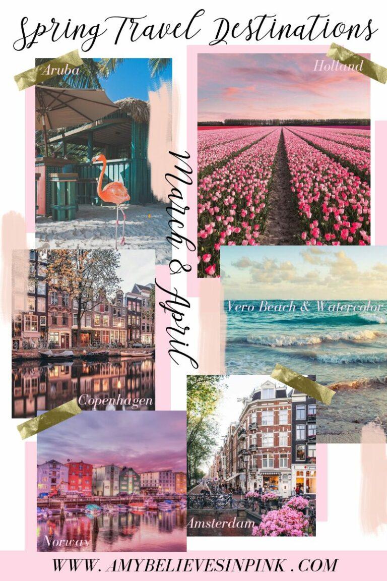 Vero Beach, Watercolor, Aruba, Copenhagen, Amsterdam travel itinerary