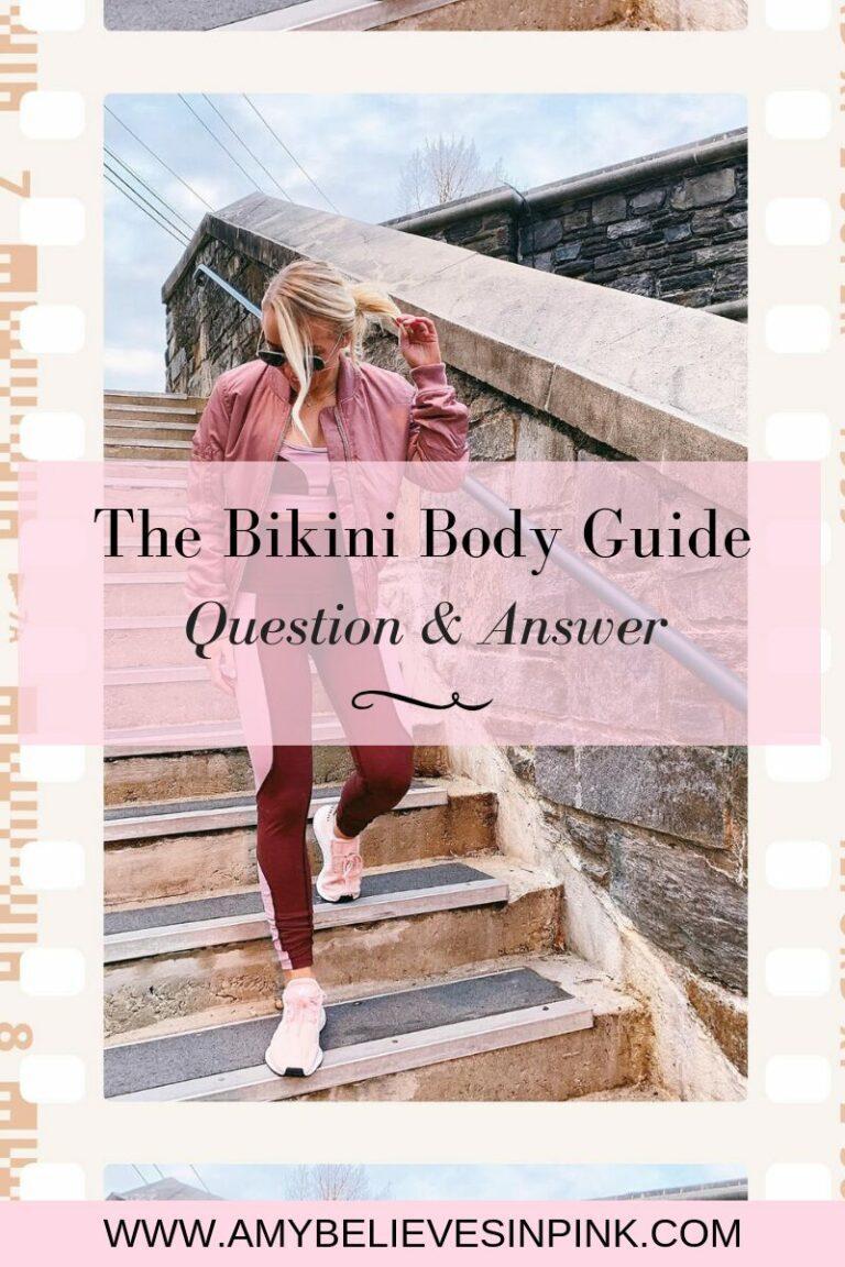 Sweat App Bikini Body Guide Q&A