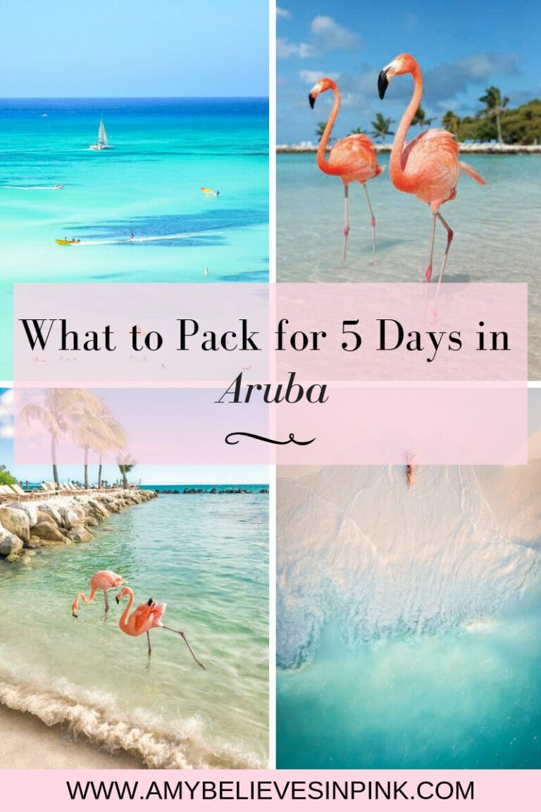 What to pack for five days in Aruba