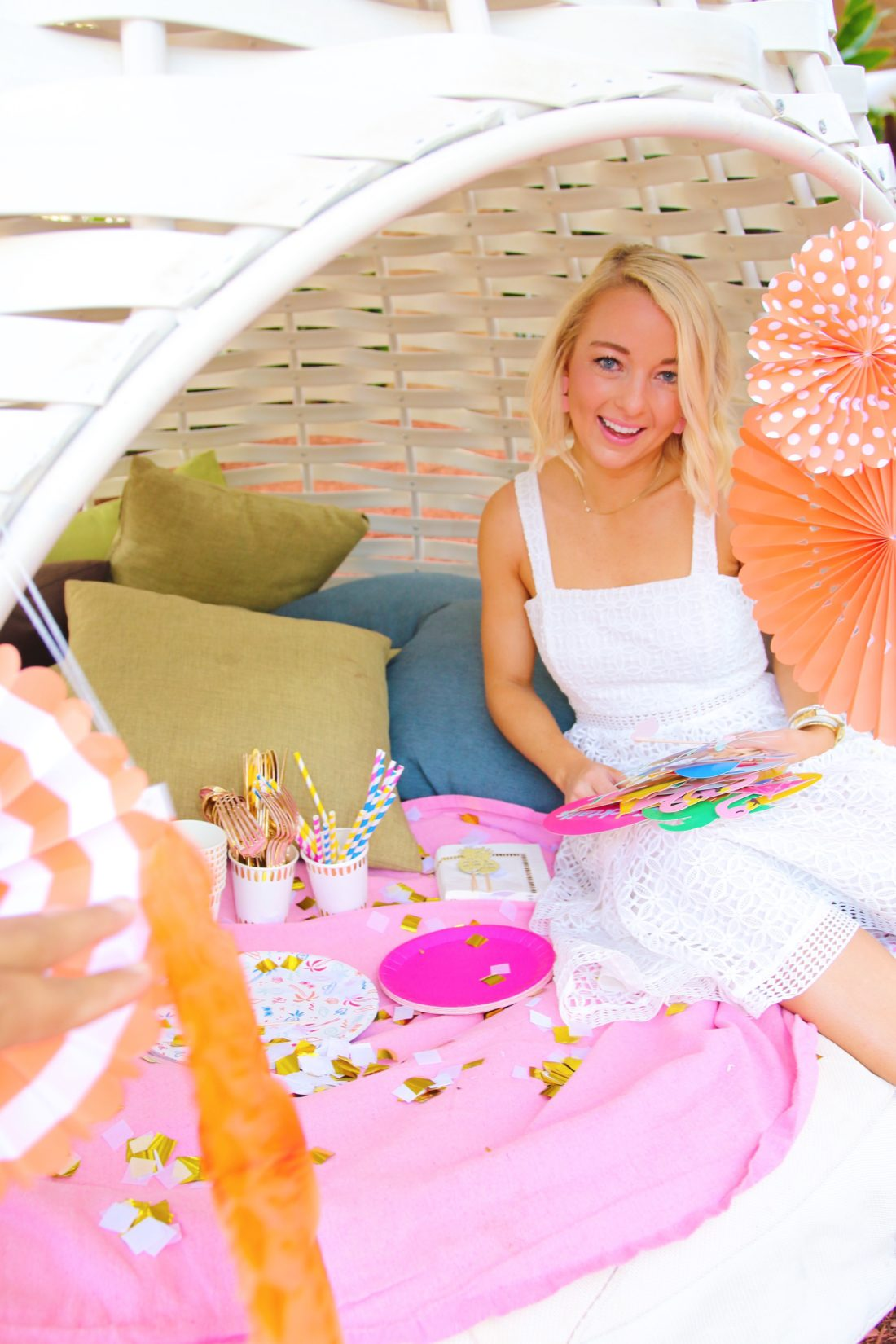 Coterie Party chic party supplies beach picnic at the Marriott Stellaris Aruba
