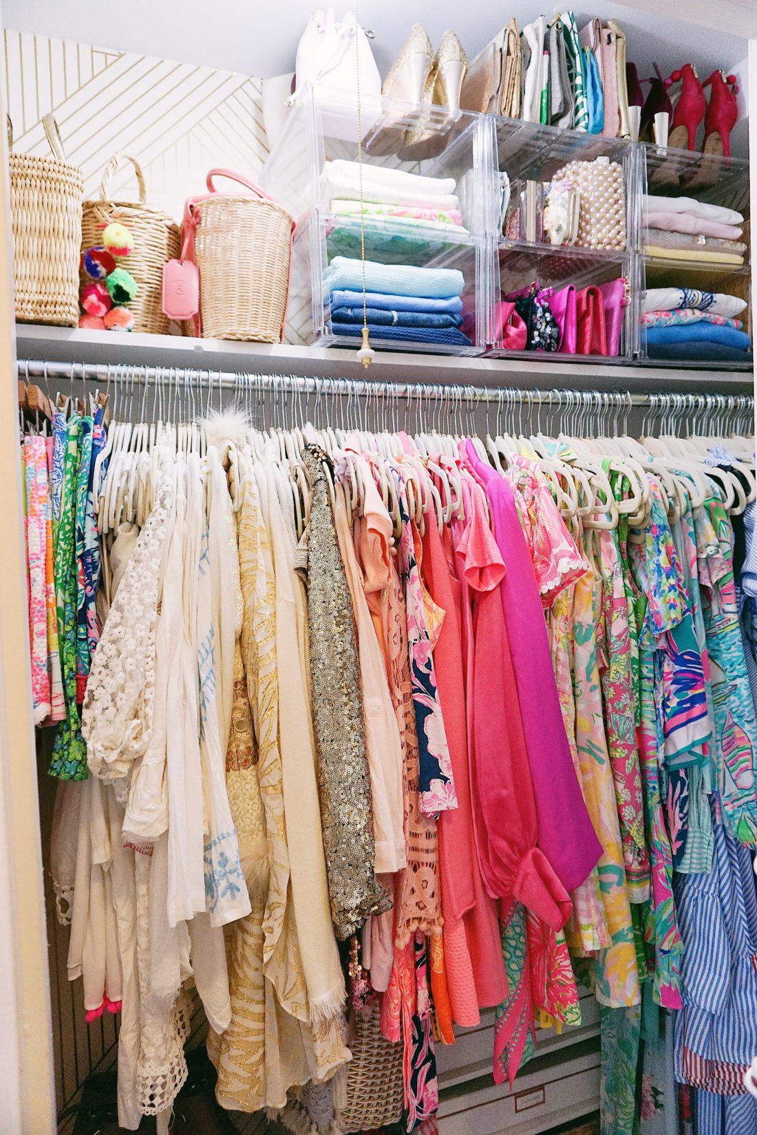 House of Turk closet organization summer wardrobe