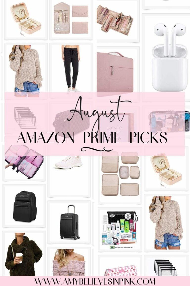 August Amazon Prime picks