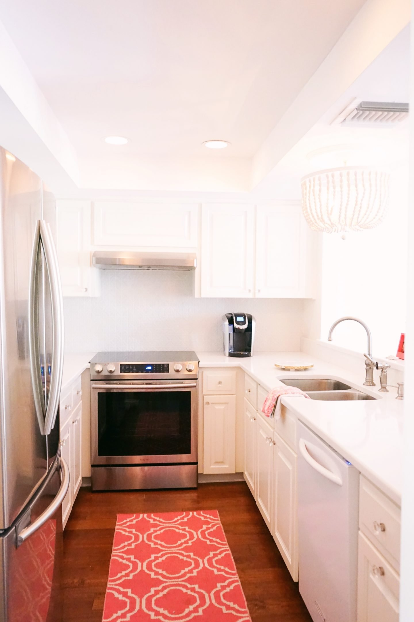 Vero Beach Townhouse kitchen