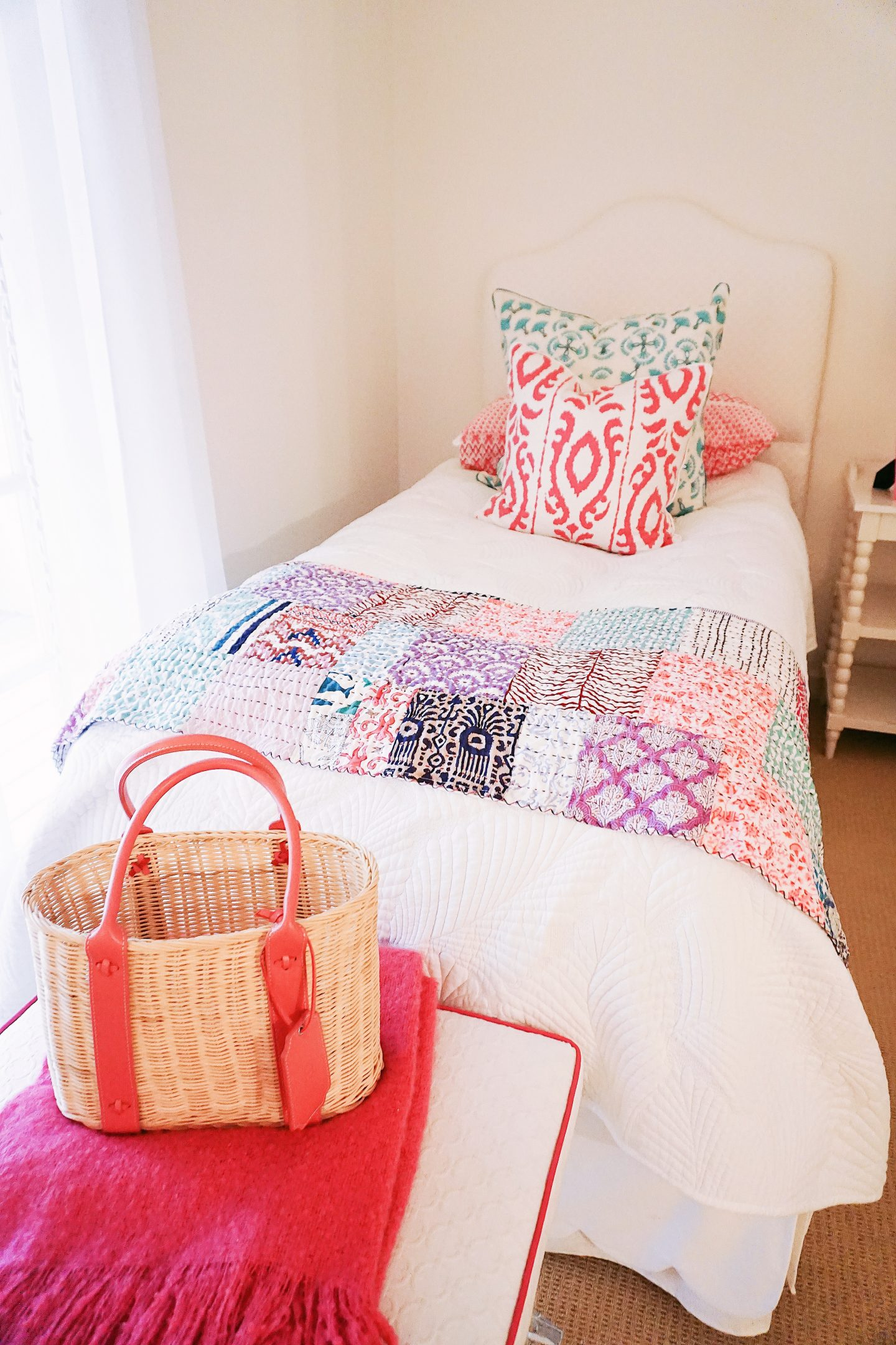 Vero Beach Townhouse bed