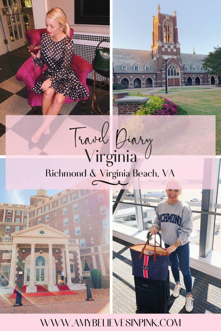 Virginia Travel Diary - Visit Virginia trip at The Jefferson and The Cavalier, VA