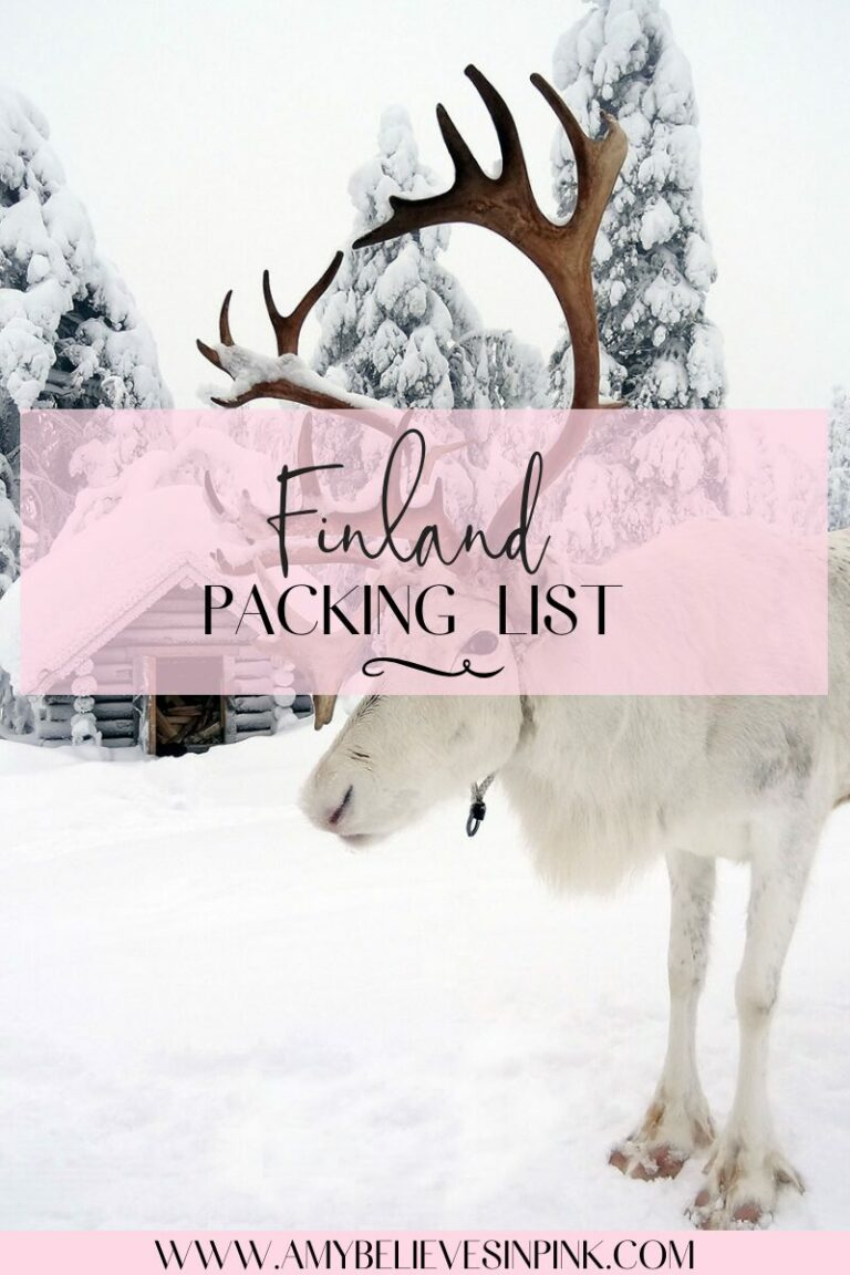 What to wear to Finland in the winter time