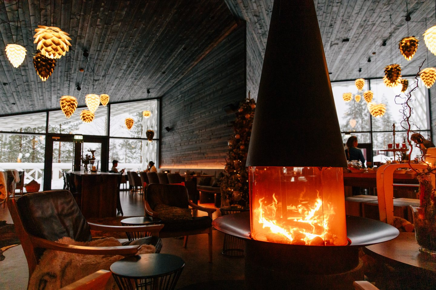 Rovaniemi, Finland with the Arctic Treehouse Hotel Review Rakas Restaurant