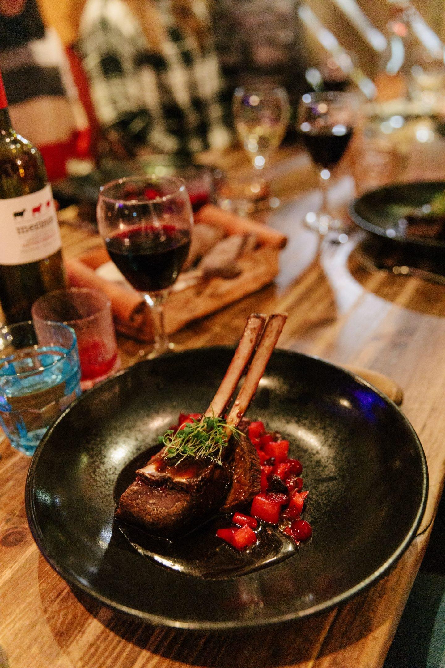 Rovaniemi, Finland with Nili Restaurant