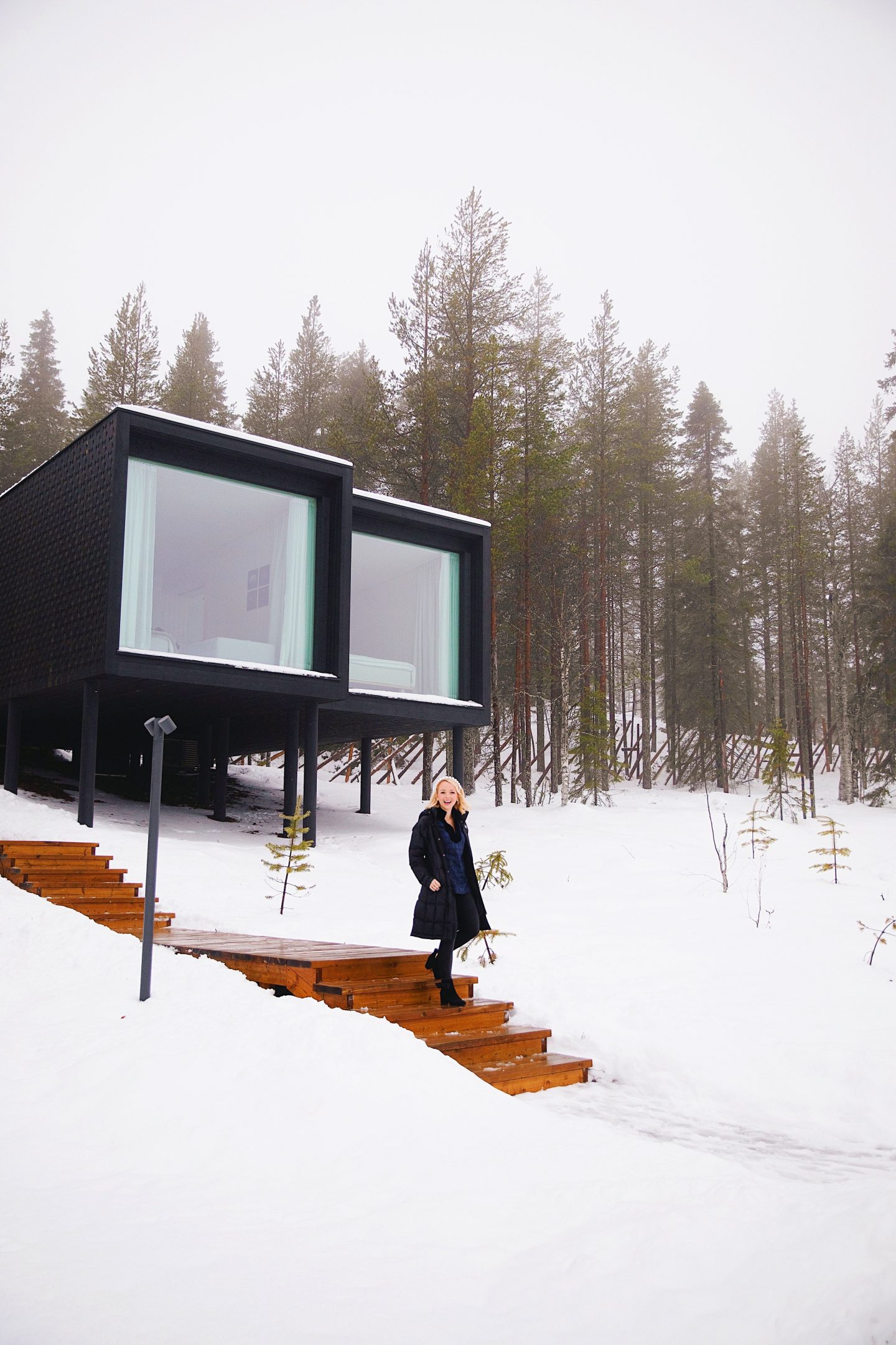 Travel guide and Lapland Travel Diary, Rovaniemi, Finland with the Arctic Treehouse Hotel Review