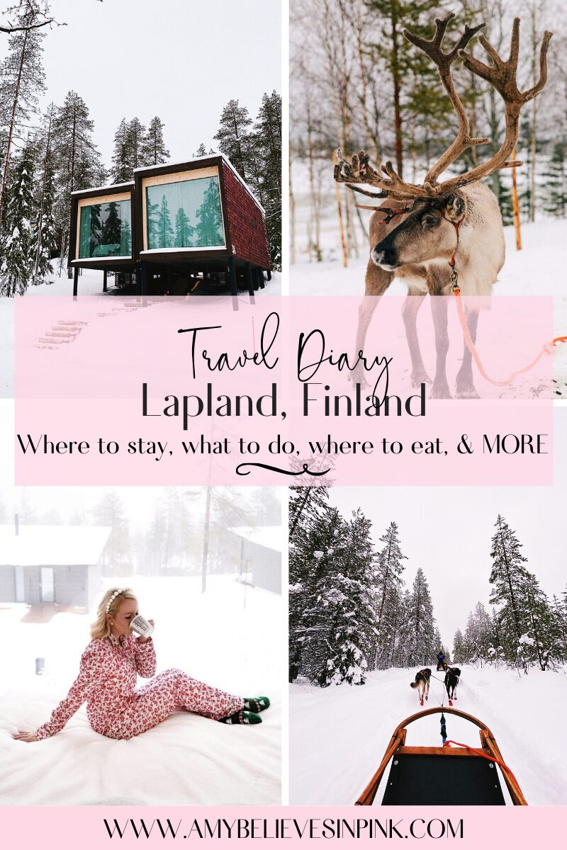 Lapland Travel Diary, with Arctic Treehouse Hotel