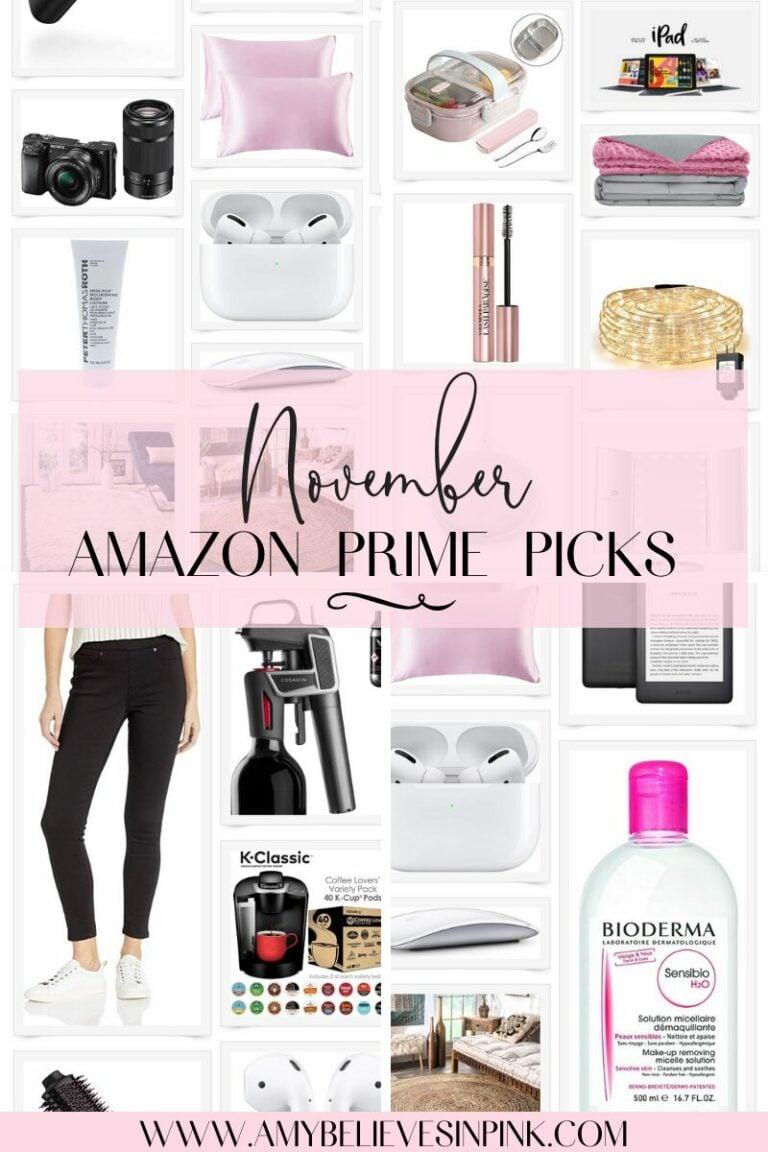 November Amazon Prime Picks, best Amazon Cyber Monday deals