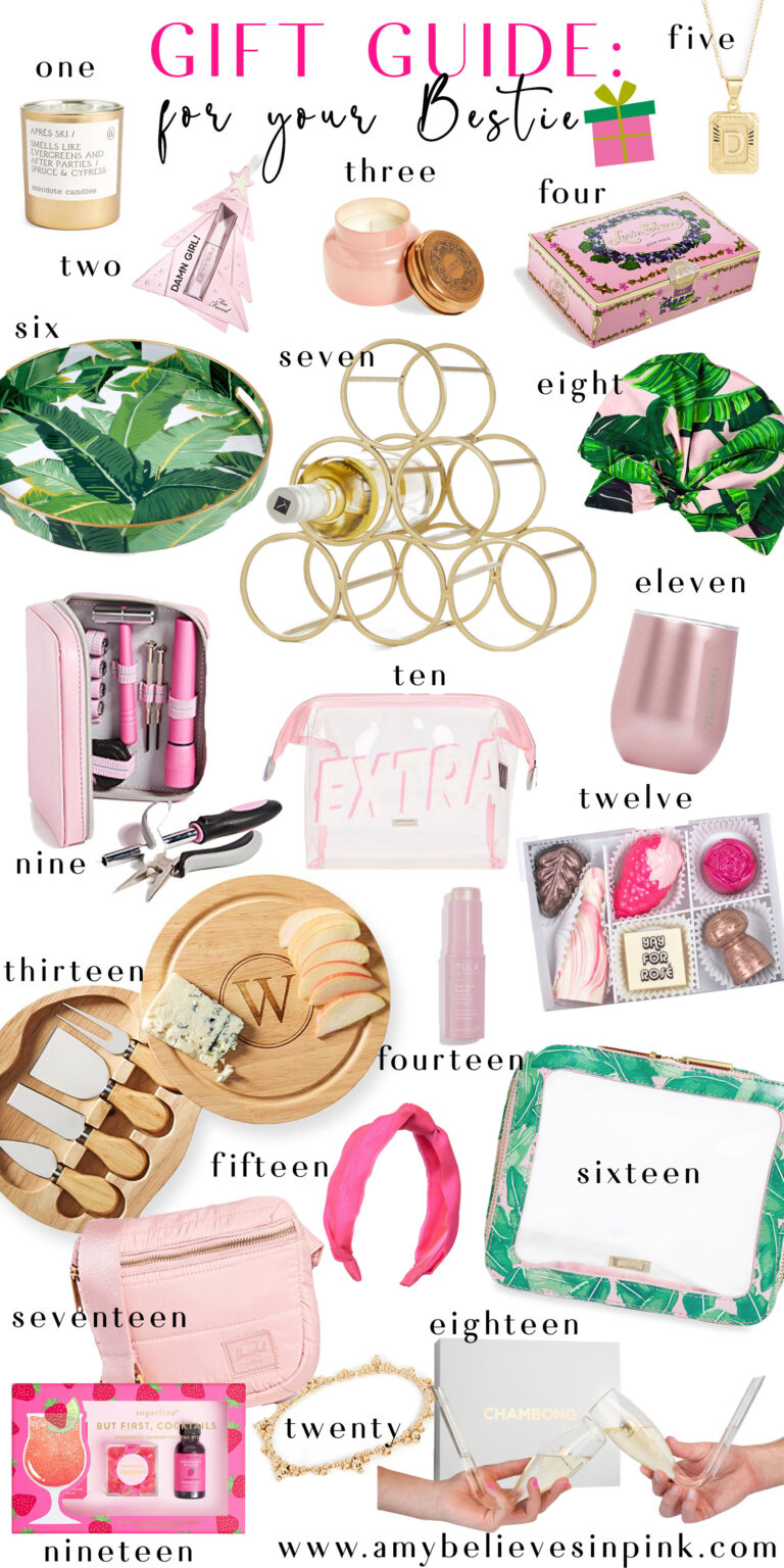 Gift Guide for Your Bestie, 2019 top holiday gifts for your best friend