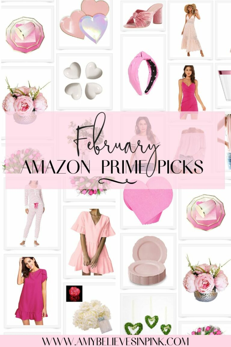 February Valenine's Day Amazon prime outfits and party decorations