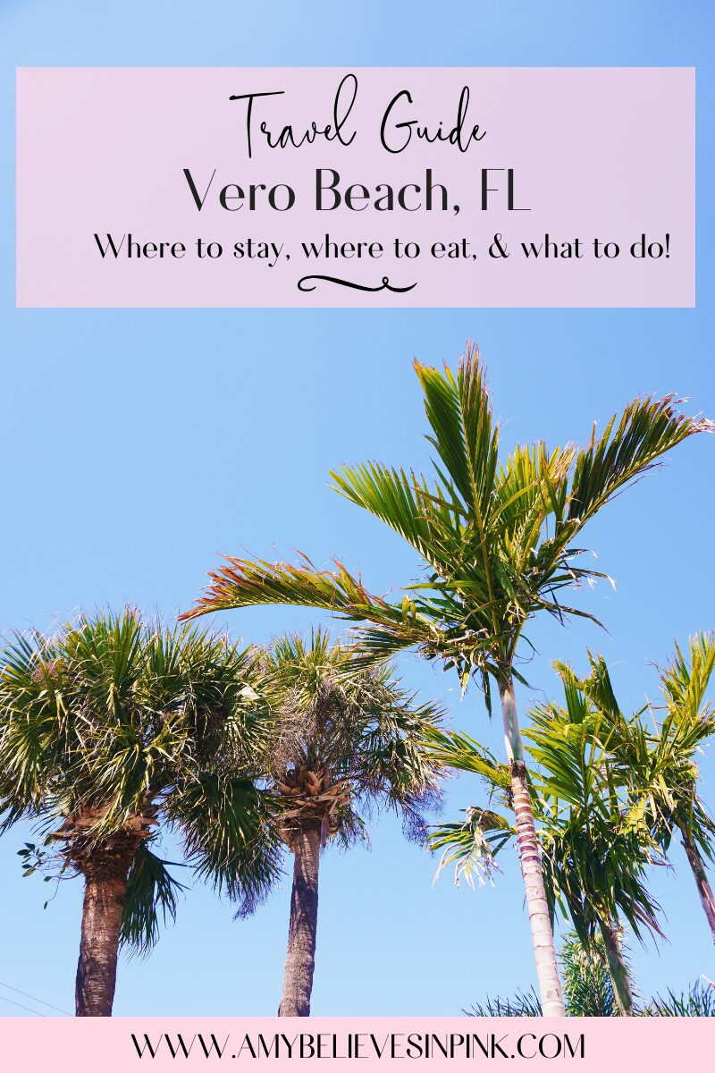 We fell in love with a barrier island in Florida called Vero Beach… and have since called it home & discovered our absolute favorite spots for where to stay, where to eat, and what to do when you visit or stay there!