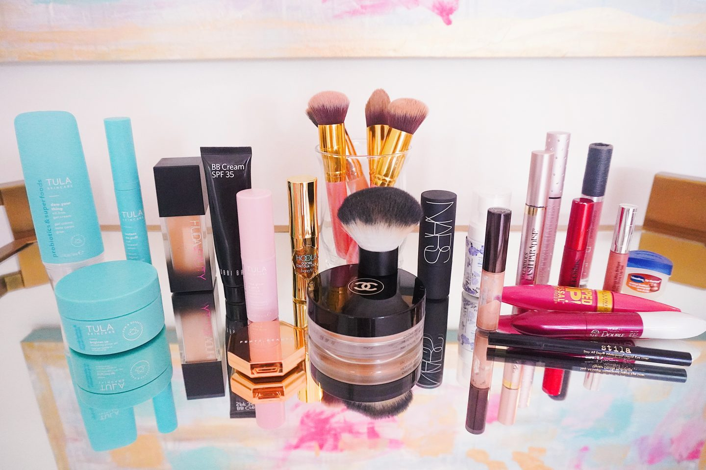 Current Makeup Rountine for a summery spring look
