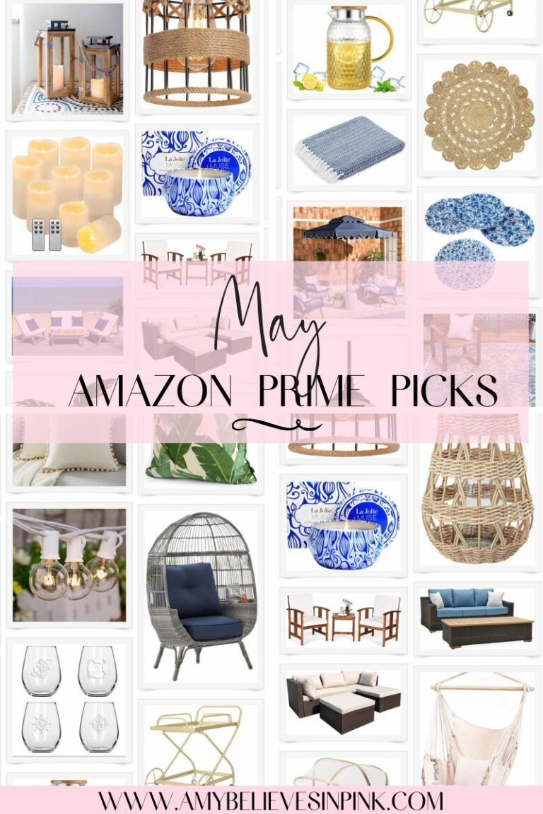Amazon Prime patio and deck items