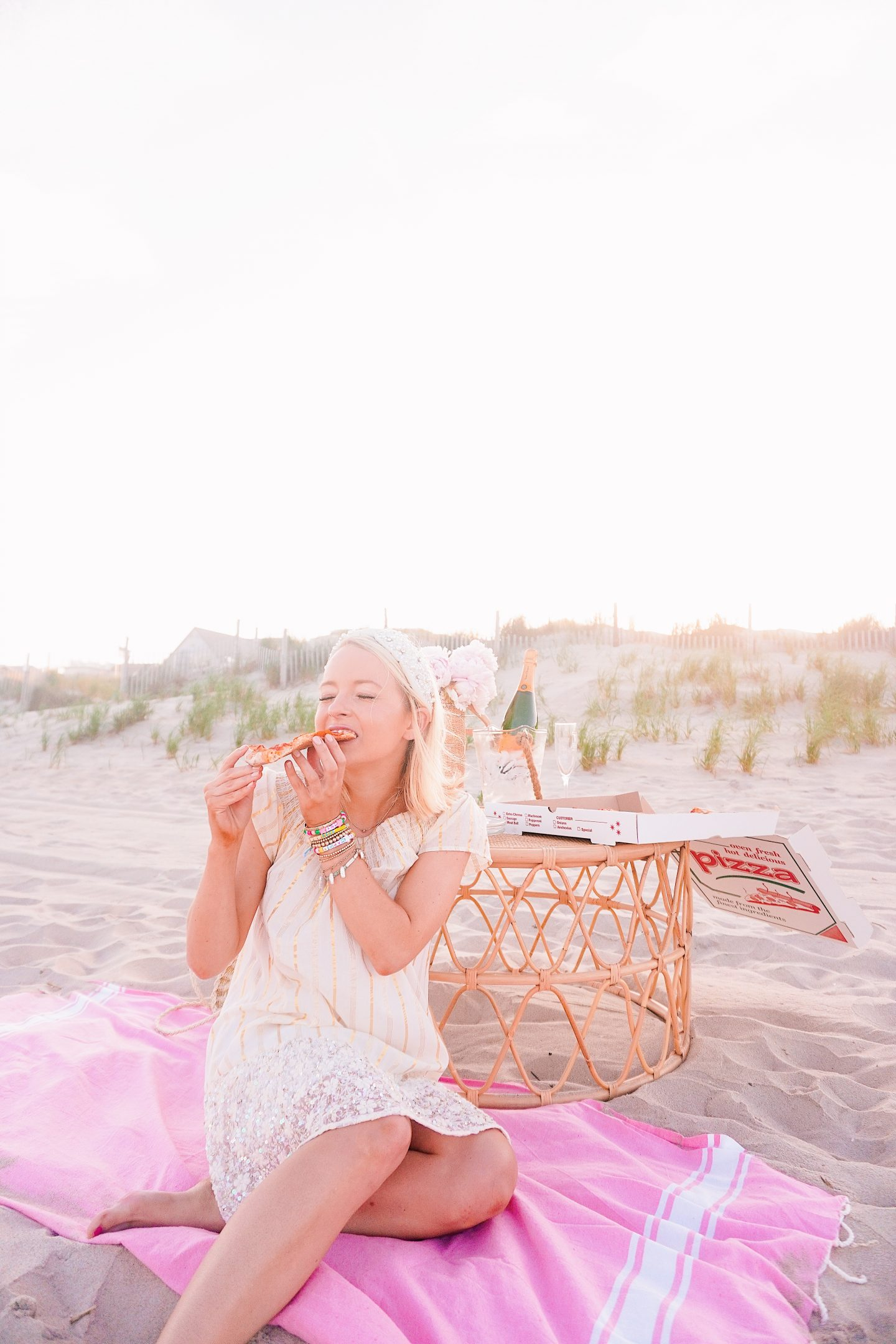 26th birthday beach picnic on Long Beach Island, NJ