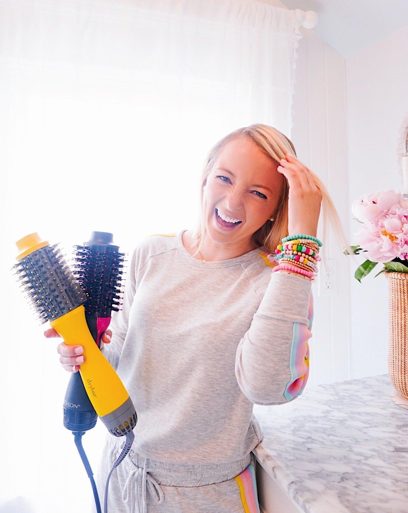 Revlon vs Dry Bar Blow-Dryer Brush Review