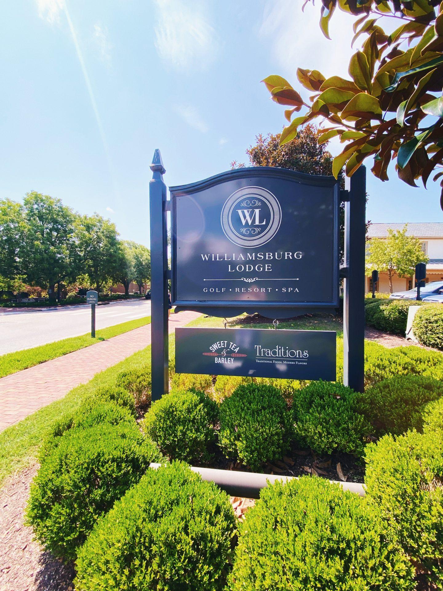 Williamsburg, VA trip itinerary